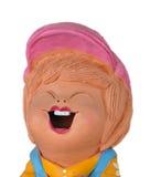 Muñeca divertida de la arcilla fotografía de archivo libre de regalías