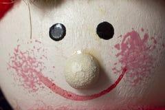 Muñeca divertida de la Navidad Foto de archivo libre de regalías