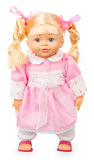 Muñeca en vestido rosado Imagen de archivo libre de regalías