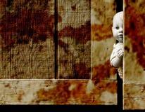 Muñeca espeluznante Fotos de archivo