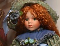 Muñeca espeluznante Foto de archivo libre de regalías