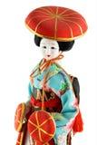 Muñeca femenina de Japón Fotografía de archivo
