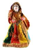 Muñeca femenina de la India Foto de archivo libre de regalías