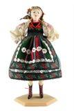 Muñeca femenina de Polonia Fotografía de archivo