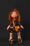 Muñeca hecha a mano. Foto de archivo libre de regalías