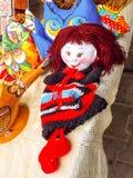 Muñeca hecha a mano Foto de archivo libre de regalías