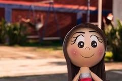 Muñeca hecha a mano Fotos de archivo
