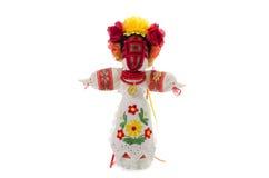 Muñeca hecha a mano popular foto de archivo libre de regalías