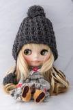 Muñeca hermosa Fotos de archivo