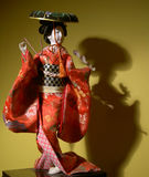 Muñeca japonesa Fotografía de archivo libre de regalías