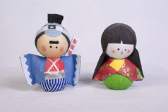 Muñeca japonesa Imágenes de archivo libres de regalías