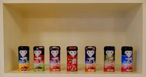 Muñeca japonesa fotos de archivo libres de regalías