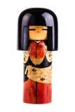 Muñeca japonesa del kokeshi Imagen de archivo libre de regalías