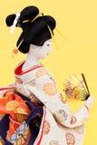 Muñeca japonesa tradicional del geisha Imágenes de archivo libres de regalías