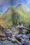 Muñeca judía en temas bíblicos fotos de archivo