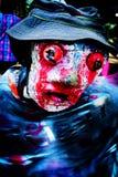 Muñeca malvada del festival de la adoración de antepasado en Tailandia Imagenes de archivo