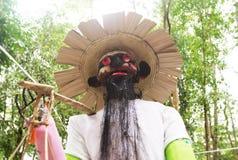 Muñeca malvada del festival de la adoración de antepasado en Tailandia Fotos de archivo libres de regalías