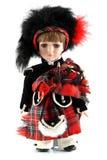 Muñeca masculina de Escocia Fotos de archivo