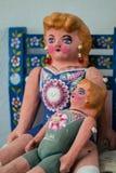 Muñeca mexicana del arte popular linda Imagen de archivo libre de regalías