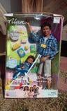Muñeca negra ken de barbie y bebé Imagenes de archivo