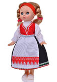 Muñeca noruega con ropa tradicional Imagen de archivo