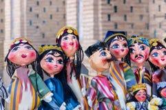 Muñeca oriental tradicional en Bukhara - Uzbekistán Foto de archivo libre de regalías