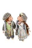 Muñeca preciosa dos Imagen de archivo
