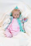 Muñeca renacida Imagen de archivo libre de regalías