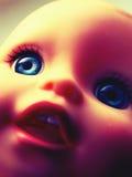 Muñeca retra espeluznante Imagen de archivo libre de regalías
