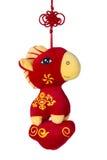 Muñeca roja del potro Imágenes de archivo libres de regalías