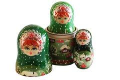 Muñeca rusa Fotografía de archivo libre de regalías
