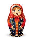 Muñeca rusa Matrioshka Imágenes de archivo libres de regalías