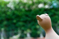 Muñeca sonriente del pato Foto de archivo libre de regalías