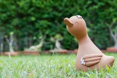 Muñeca sonriente del pato Imágenes de archivo libres de regalías