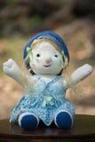 Muñeca suave del juguete Imagen de archivo libre de regalías