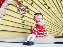Muñeca típica sevillana, España Fotografía de archivo libre de regalías