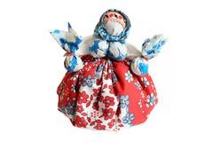 Muñeca tradicional ucraniana del motanka aislada Imágenes de archivo libres de regalías