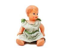 Muñeca vieja Fotos de archivo