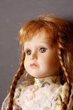Muñeca vieja de la porcelana Imagen de archivo