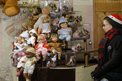 muñecas Foto de archivo