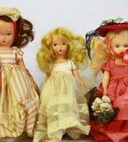 Muñecas antiguas Fotografía de archivo