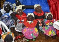 Muñecas coloridas Imagen de archivo libre de regalías