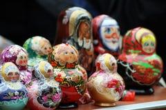 Muñecas de Babushka foto de archivo libre de regalías