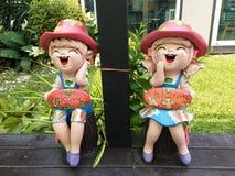Muñecas de Creamic Fotografía de archivo libre de regalías