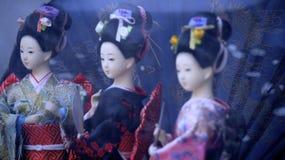 Muñecas de Japaneese Imagen de archivo libre de regalías