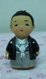Muñecas de Kokeshi Foto de archivo libre de regalías
