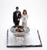 Muñecas de la boda foto de archivo libre de regalías
