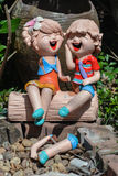 Muñecas de la incapacidad Foto de archivo