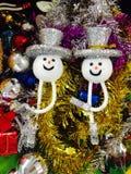Muñecas de la Navidad Fotos de archivo
