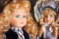 Muñecas de la porcelana Fotos de archivo